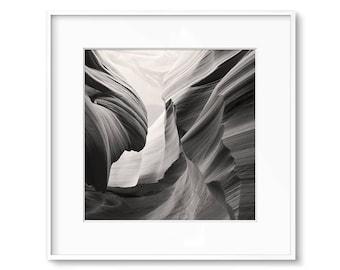 Southwestern Decor, Desert Art, Printable Art, Antelope Canyon, Sepia Prints, Black And White Print, Contemporary Art, Poster, Wall Art, Art