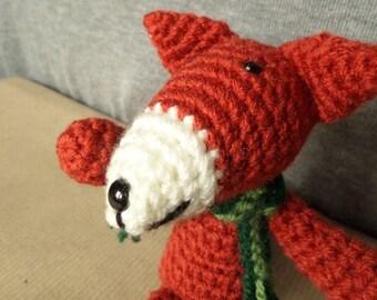 Amigurumi Fox Character