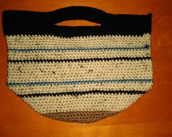 Small Crocheted Tote or Purse