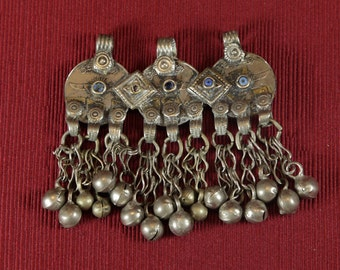 Vintage Kuchi pendant from Afghanistan supplies for tribal bellydancers