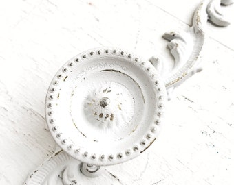 Shabby Chic Furniture Knobs , Cup Knobs , Antique Desk Vanity Hardware , Home Office Desk Knobs , Shabby Chic Furniture Restoration