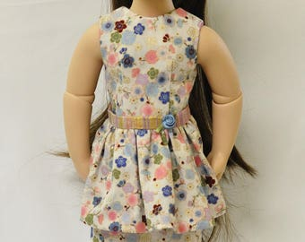 "A Girl for All Time® sized dress, overskirt for 16"" dolls"