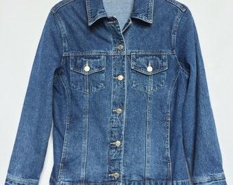 Vintage Fitted Denim Jacket
