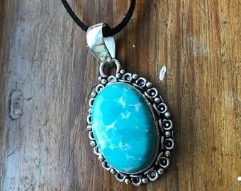 Larimar necklace, larimar pendant, larimar jewellery, larimar jewelry, larimar, blue gem pendant, blue gem necklace, blue gemstone necklace