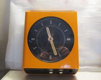Italian Space Age Radio Clock Europhon H10