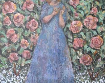 Fine Art Print- English Rose