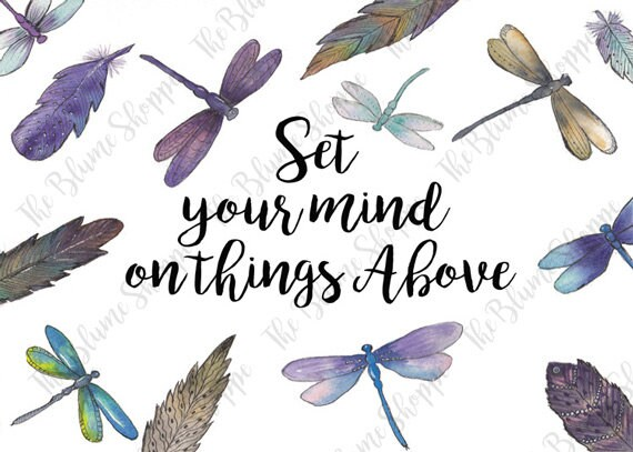 Set You Mind On Things Above