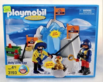 PLAYMOBIL # 3193 Baby Dino Egg Sealed Hard to Find Children's Play Toy