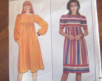 Butterick 4440, size 6-10, UNCUT sewing pattern Misses, womens dress, craft supplies