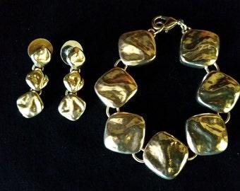 Liz Claiborne Bracelet and Earrings