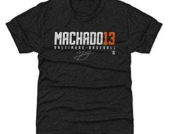 Manny Machado Youth Shirt | Baltimore Baseball | Kids T Shirt | Manny Machado Machado13 W Wht