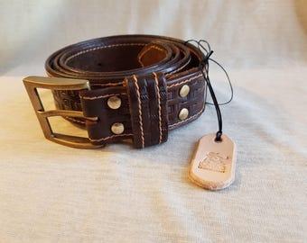 Genuine Leather Handmade Men's Belt