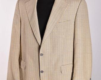 Men's Burberry London Bennet S Vintage Casual Blazer Jacket Size 26 / L Genuine