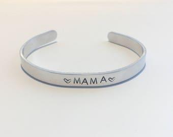 Mama Aluminium Cuff