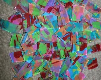 Mosaic Tile RED AQUA PINK etc Mosaic Tiles