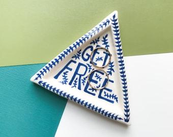 Get Free Triangle Dish