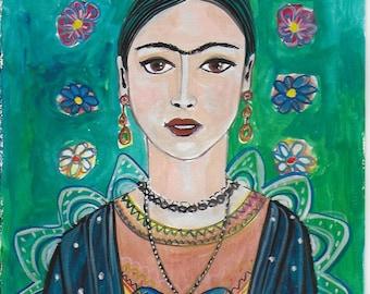 Frida My Love - Original Painting