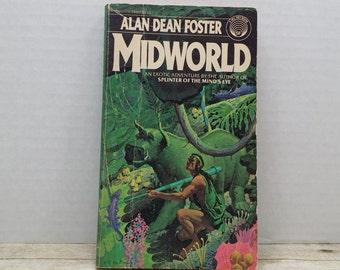 Midworld, 1979, Alan Dean Foster, vintage science fiction, sci fi, pulp fiction