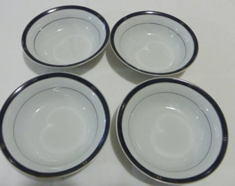 delta by amko collectible dinnerware set of four soup bowls 044206174
