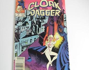 Cloak & Dagger comic book, Vol. 1 No. 2 November 1983, Marvel Comics