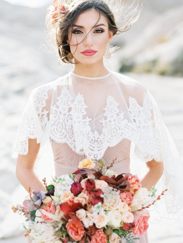 Bridal Cape Bridal Capelet Bridal Cover Up Bridal