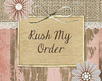 Rush My Order (CANADA, U.S ONLY)