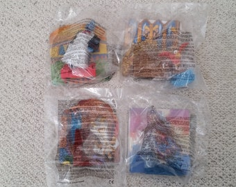 1997 McDonalds Happy Meal Aladdin Complete Set of 4