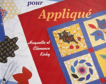 New book - transfer for Applique - Motifs rebroder - Huguette and Clemence Kirby