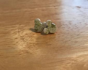 Butterfly Mickey Mouse earrings