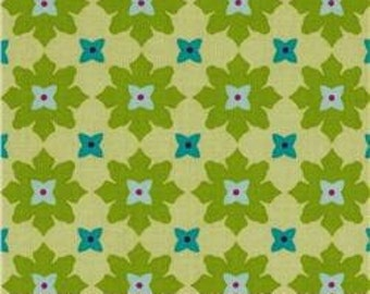 Andalucia - Tiny Flower -Patty Young - Citron - Michael Miller -1 yard cut