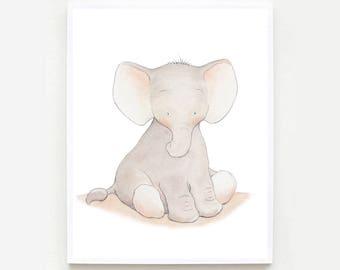 Elephant Nursery wall Art,Elephant Nursery print,Elephant Nursery decor,Elephant baby room ,Elephant Kids Art,Elephant Nursery ,Baby Art