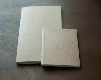 Inserts - Traveler's Journal - Midori - Standard Size - Regular Size - Books