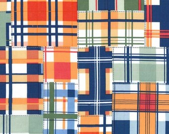 Madras Patch in Cheer by Michael Miller Fabrics - your choice of cut