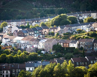 South Wales Valleys Terraced Houses