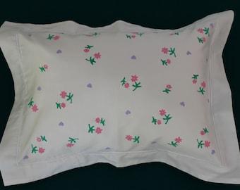 Tiny flower pillow