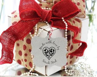 Clear Block Custom stamp for Presents, Custom to from Stamp, Cute Stamp for Gifts Clear block --5764