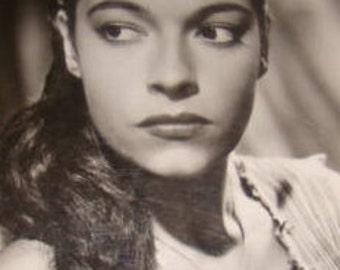 SALE Pretty Lady Vintage Picture