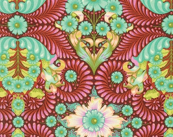 Slow & Steady The Tortoise Orange Crush PWTP085.ORANG by Tula Pink for Free Spirit