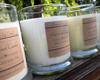 Watermelon..  Hand Poured.. Soy Candle.. One 12 oz. Tumbler..  Highly fragrant candle in a gift box. Beautiful Summer Scent!!