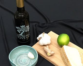 Grate Plate handmade garlic grater