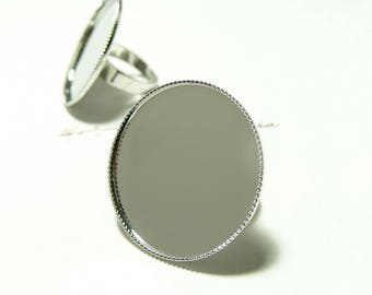 Finish jewelry ring 30mm tray PP 4 holders