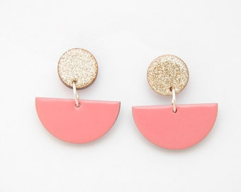 Earrings Retro