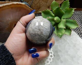 Agate Geode and Druzy Sphere (LT-33)
