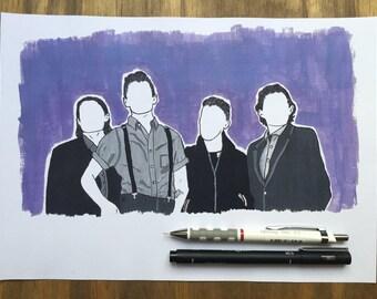 Arctic Monkeys - Art Print