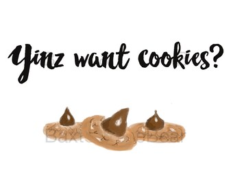 Cookie Table Sign (Pittsburgh Wedding, Pittsburgh Cookie Table, Wedding Sign)