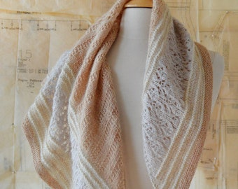 About Town Shawl Knitting Pattern PDF
