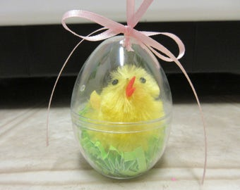Easter Decor-Chick In An Egg Easter Ornament