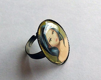 "Adjustable Ring ""Maureen"""