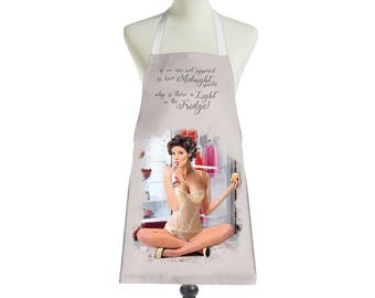 Midnight Snacks Pin Up Girl Apron