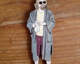 wood pin Lebowski